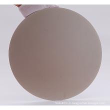 Disque de disque magnétique de tour de broyeur plat en céramique de porcelaine lapidaire en verre de diamant