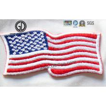 Various National Flag Custom Digitizing Design 3D Embroidery