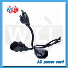PSE approval 125V 250V japan AC power cord for hair straightener