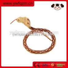 Simulation Spielzeug Holz Tier Schlange für die Dekoration