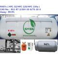 99.95% gaz réfrigérant R407C de haute pureté
