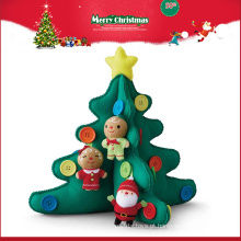 atacado importador árvore brinquedos de pelúcia enfeite de decoração de Natal