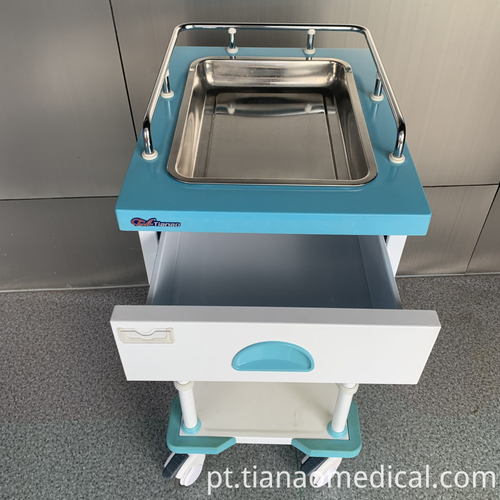 Medical Artistic Treatment Trolley Cart