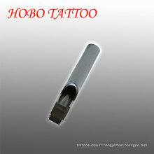 Poignées de tatouage en gros Bouts d'aiguille de tatouage en acier inoxydable
