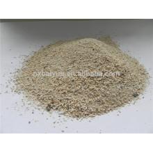 80% de agregado de bauxita Material de base rodoviária