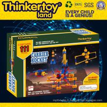 Ensemble de moulin à vent Modèle Plastic Education Toy Plastic Building Blocks