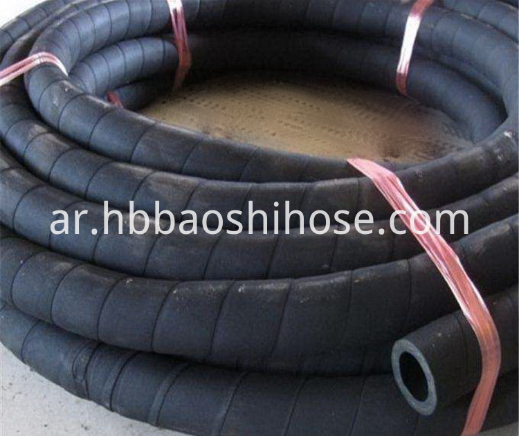 Wear-Resistant Sand-blasting Rubber Pipe