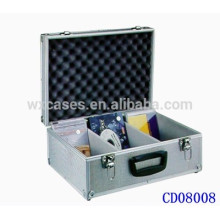 popular 90 CD disks(10mm)aluminum DVD case wholesales from China manufacturer