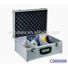 popular caixa de DVD CD 90 discos (10mm) alumínio vendas por atacado de China fabricante