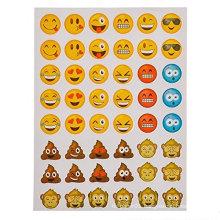 hot sales OEM gifts decorative cute cartoon kids emoji sticker