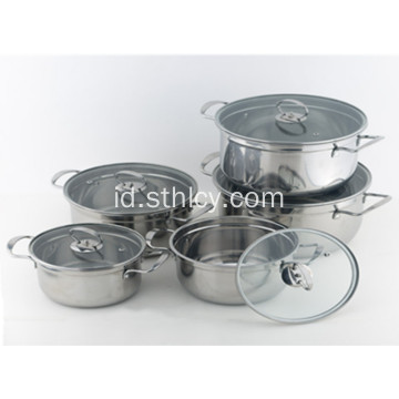 Peralatan masak Stainless Steel Multiclad Stainless Steel
