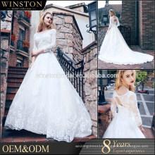 High Quality Heavy Beaded Ball Gown Wedding Dress