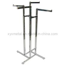 Exportation de 4 rayures droites 4-Way Clothes Garment Rack (YJ-401)