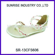 SR-13CFS606 2014 Hot sale cheap beautiful sandals for girls sandals for flat feet cute sandals for girls