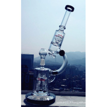 Grossiste usine Microscope Smoking Glass Water Pipe