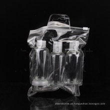 5PCS Travel Bottle Set, Screw / Disc Top Cap Bottle, Jar