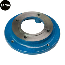OEM Ductile, Grey Iron Flange Casting with Machining, Painting