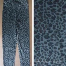 La venta caliente imprimió las polainas de la moda de las mujeres del leopardo de Bape