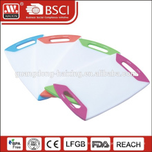 HAIXIN Plastic antibacterial color coding chopping board