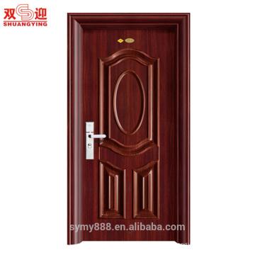 Les portes décoratives en acier décoratives conçoivent une porte d'entrée de haute qualité