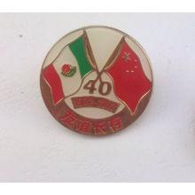 Emblema de metal personalizado, emblema nacional esmalte (GZHY-LP-019)