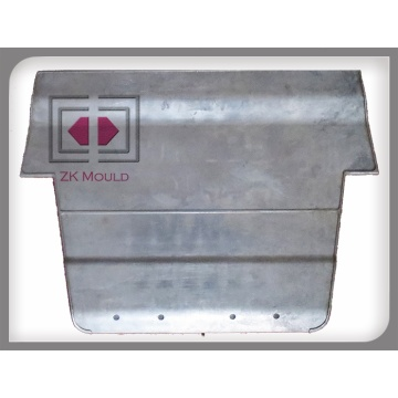 Placa de base de fundición de aluminio