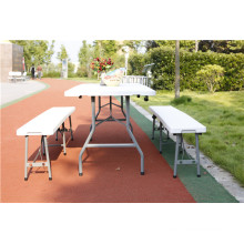 6ft Plastic Banquet Folding Table for Catering Used