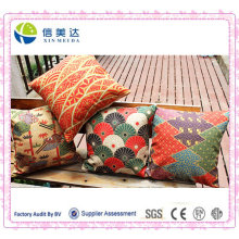 Almofada / travesseiro do sofá do algodão do estilo japonês