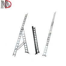 4 m three part ladder triple extension ladders 3 way combination ladder