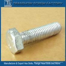 Aço de liga de alta resistência 12,9 parafusos sextavados (M12 * 45)