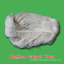 Bambusgarn für Teppich