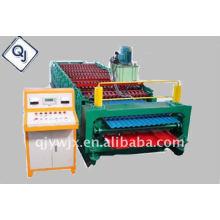 QJ 850-860 teja de doble capa que hace la máquina