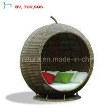 2016 Patio Furniture Big Apple Sunbed for Garden (S-3035)