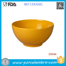Wholesale Yellow Renewable Ceramic Bowl