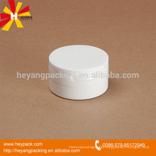 milky white PP 50ml plastic jars