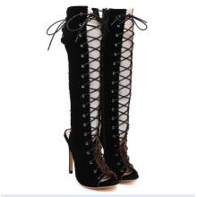 Fashion Flat Women Sandals (Hcy02-079)