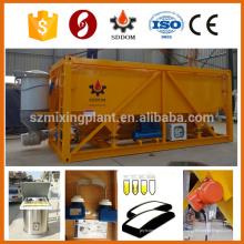 Ciment à haute flexibilité ciment silo ciment horizontal silo béton ciment silo 30T 50T personnalisé