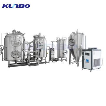 KUNBO 500L Electric Brewing System Fábrica de equipos de cervecería