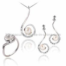 Ensemble de bijoux en perles d'eau douce