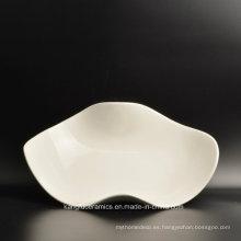 Fabricación barata del servicio de mesa del banquete de cerámica