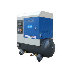 Combined Rotary Air Compressor 6hp Screw Air Compressor Industrial Air Compressor