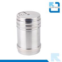 Edelstahl Metall Gewürz Shaker Dosen mit Deckel, Gewürz Dosen