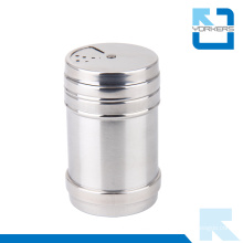 Stainless Steel Metal Spice Shaker Cans with Lid, Spice Tins