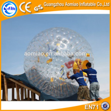 3m*2m used zorb ball inflatable human sized hamster ball on hot selling