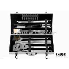 Starke Aluminium-Werkzeugkoffer für BBQ-Tools Set Hot Sales