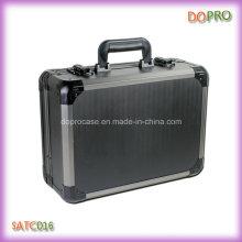 Fuerte Heavy Duty manejar estilo caja de herramientas de aluminio Maletín (SATC016)