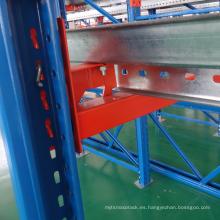 Impulsión resistente de acero del metal en la impulsión de la estantería de la plataforma en la plataforma de la plataforma