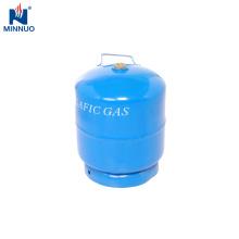 Tanque de GPL da Dominica, cilindro de gás portátil de 3 kg para churrasco
