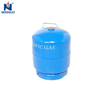 Dominica LPG Tank, tragbare 3 kg Gasflasche für Grill