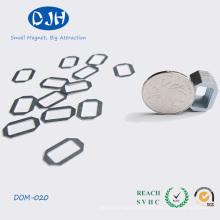 Kleine Größe gesinterte Rennbahn Form Neodym Magnet NdFeB Magnet